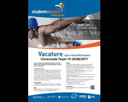 Vacature-kine-Universiade